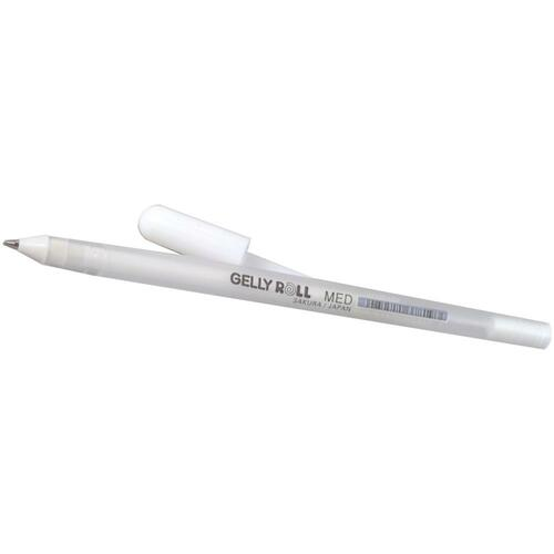 Medium Gelly Roll Pen - White