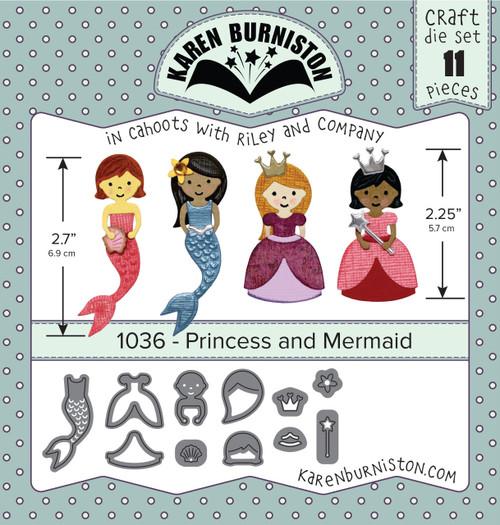 Princess and Mermaid