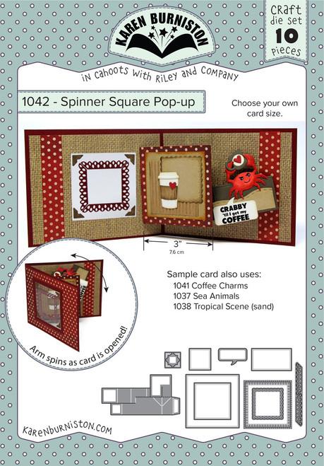 Spinner Square Pop-up