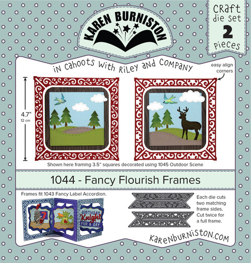 Fancy Flourish Frames