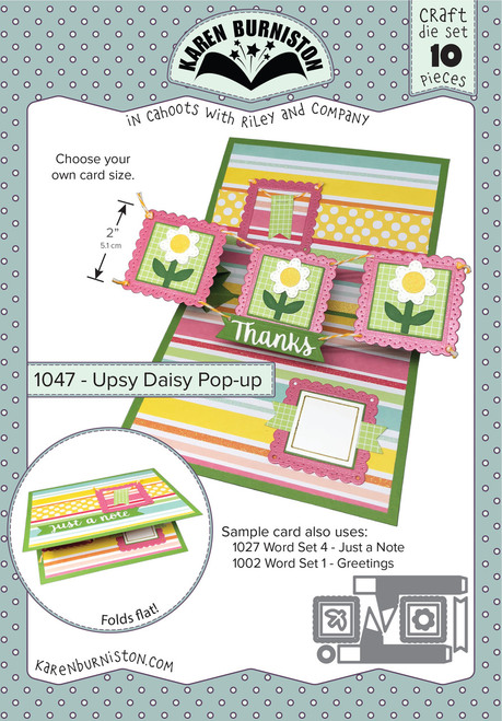 Upsy Daisy Pop-Up