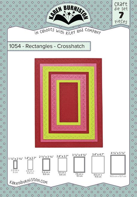 Rectangles - Crosshatch