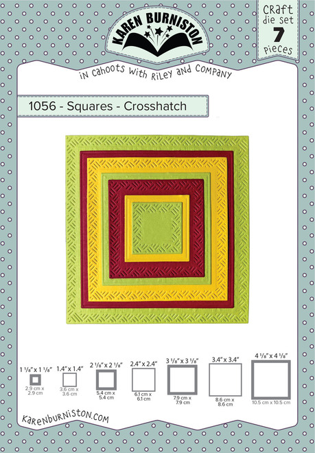Squares - Crosshatch