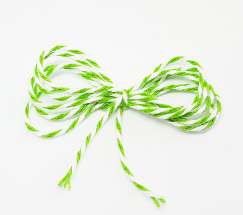 Baker's Twine - Spring Green and White