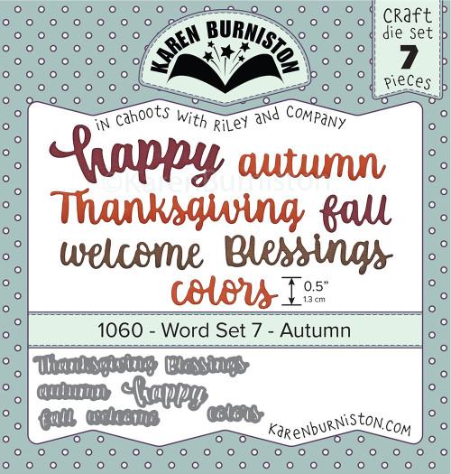 Word Set 7 - Autumn