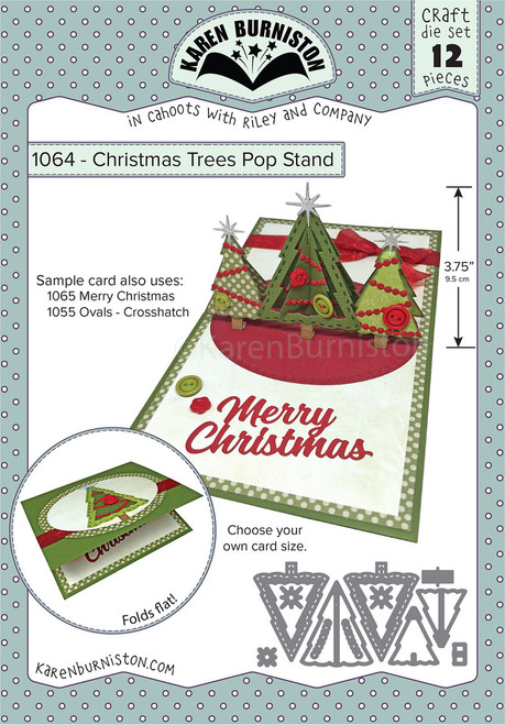 Christmas Trees Pop Stand