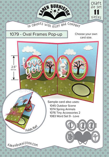 Oval Frames Pop-up
