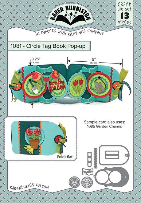 Circle Tag Book Pop-up