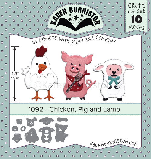 Chicken, Pig and Lamb