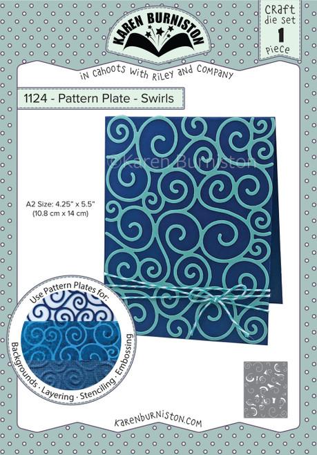 Pattern Plate -Swirls