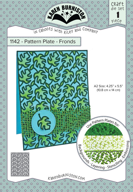 Pattern Plate -Fronds