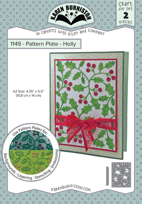 Pattern Plate - Holly