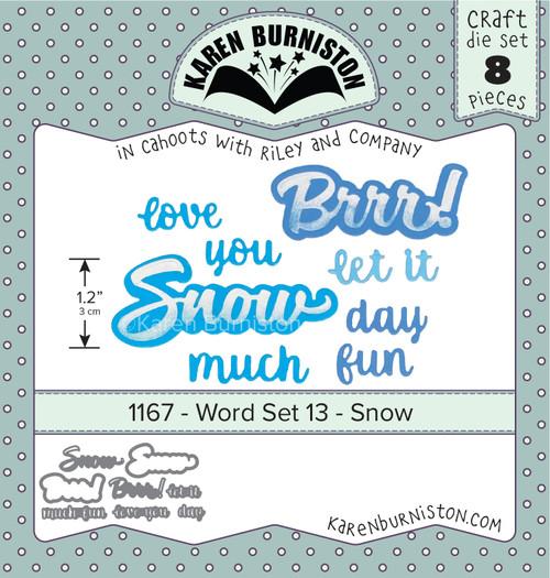 Word Set 13 - Snow