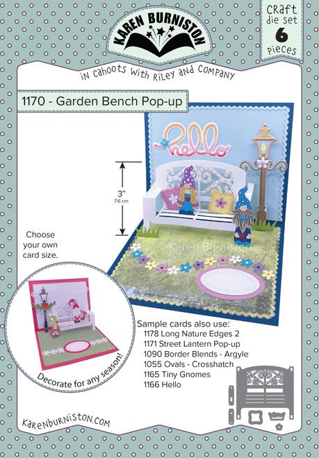 Garden Bench Pop-Up