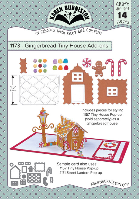 Gingerbread Tiny House Add - Ons