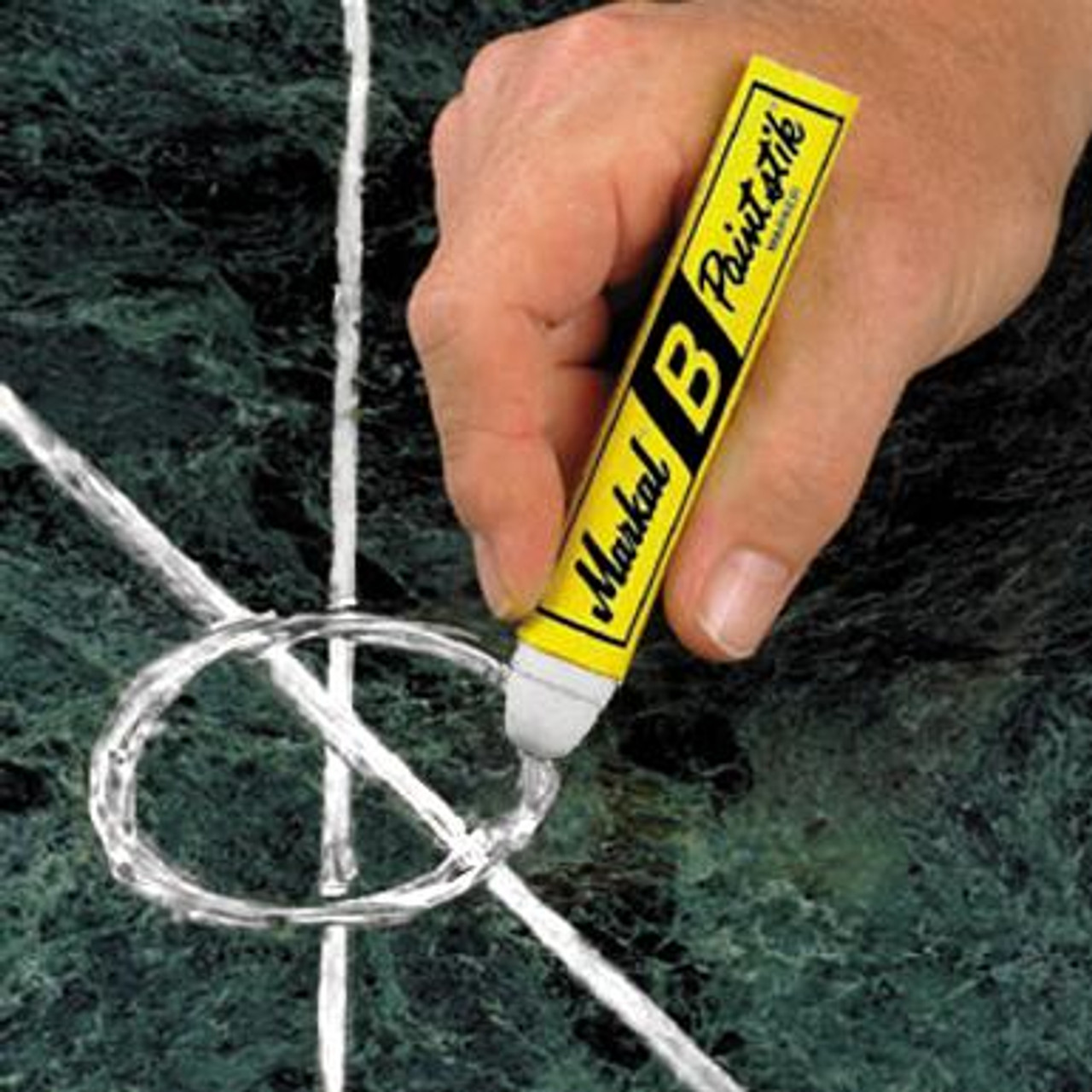 Markal Solid Paint Markers For Metal, Wood, Concrete