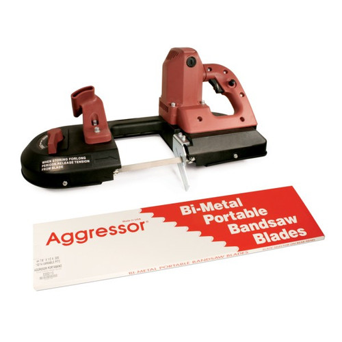 "Box of 3, Aggressor Portable Bandsaw Blade 44 7/8"" x 1/2"" x .020"""