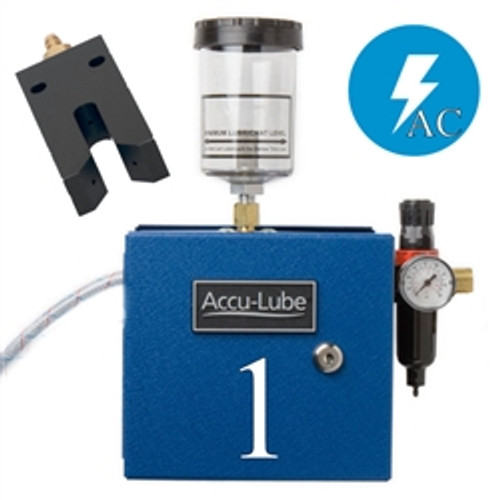 Accu-Lube, 01A1-NNZ, Applicator, 1 Pump Boxed, Electric solenoid on/off control (110 VAC) & N-Nozzle (#9696) for band sawing