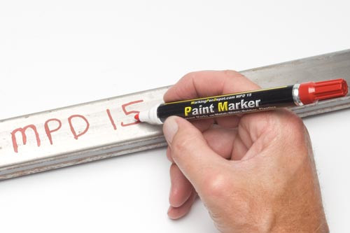 MPDX Medium Industrial Paint Markers, 10 Year UV Resistance