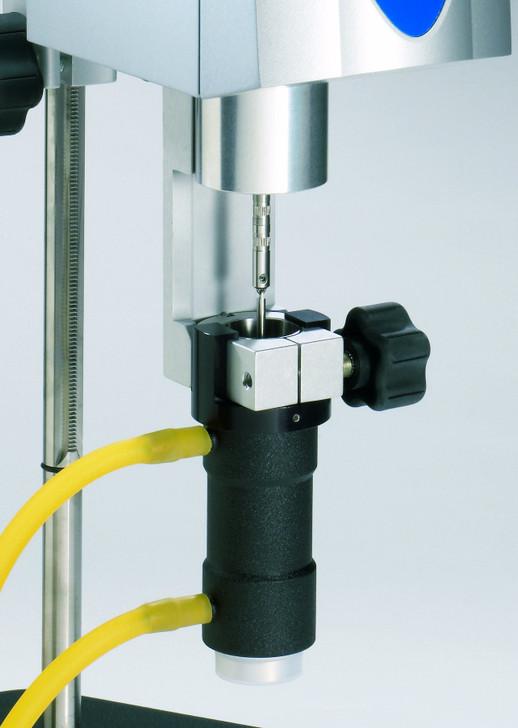 Le kit d'adaptateur UL amélioré s'utilise avec tout viscosimètre ou rhéomètre Brookfield standard pour effectuer des mesures précises et reproductibles sur des matériaux à faible viscosité.