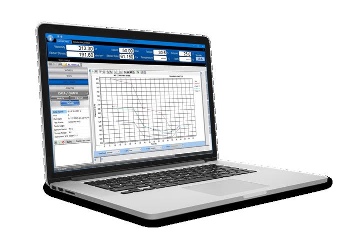 RheocalcT Software | Standard Edition