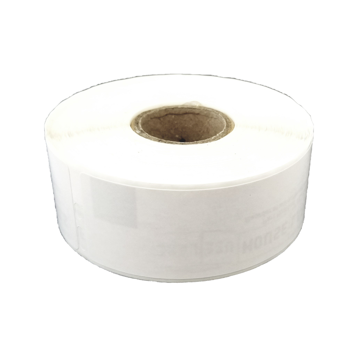 Address Label Roll with Enhanced Image Retention