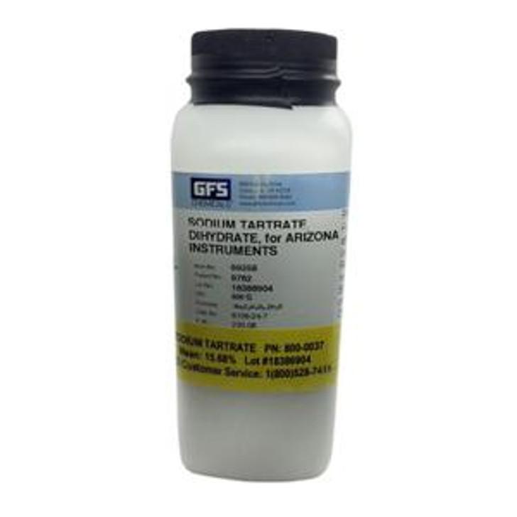 Tartrate de sodium. Vérification de l'humidité de qualité réactif pour les analyseurs MAX.