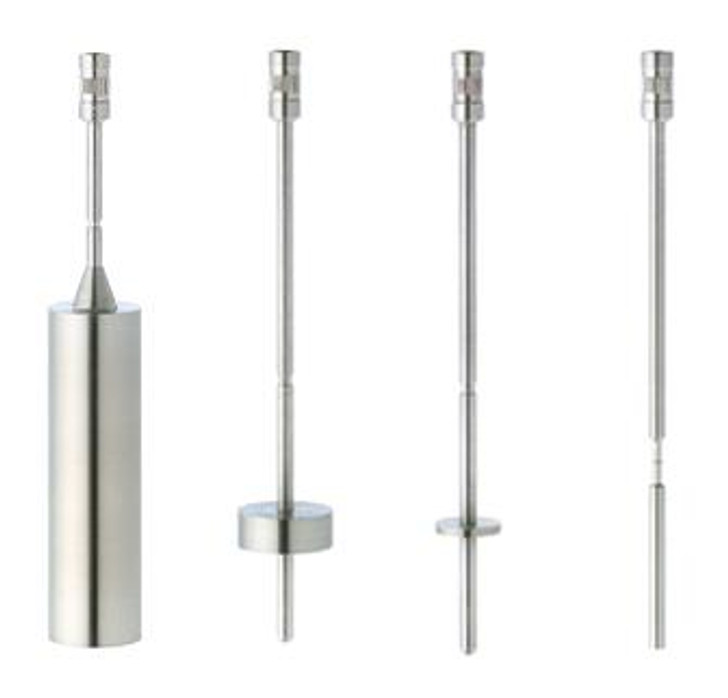 316 stainless steel LV spindles to be used with your Brookfield Viscometer or Rheometer with LV torque range.