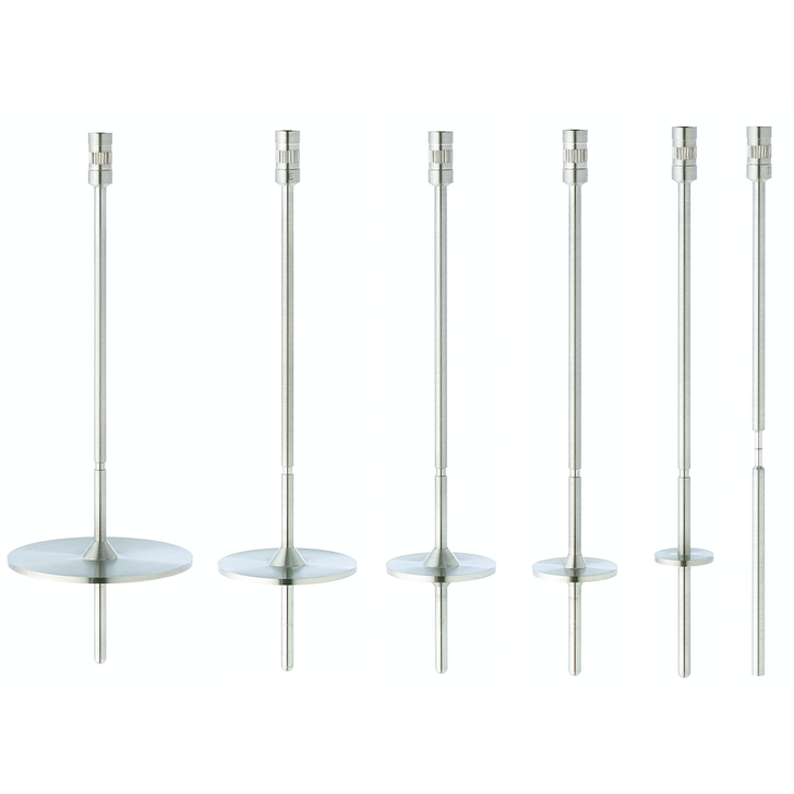 Stainless steel HV spindles to be used with your Brookfield HA/HB Viscometer or Rheometer with HA or HB torque range.