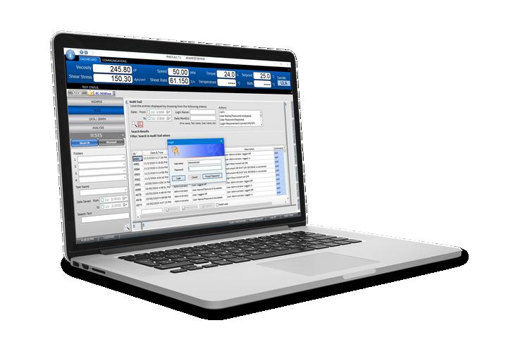 RheocalcT Software | Advanced Edition