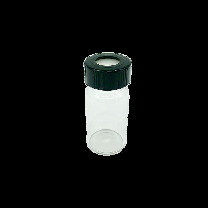 RX Glass Sample Bottle, 25ml, for instrument Vapor Pro CT-3500RX.
