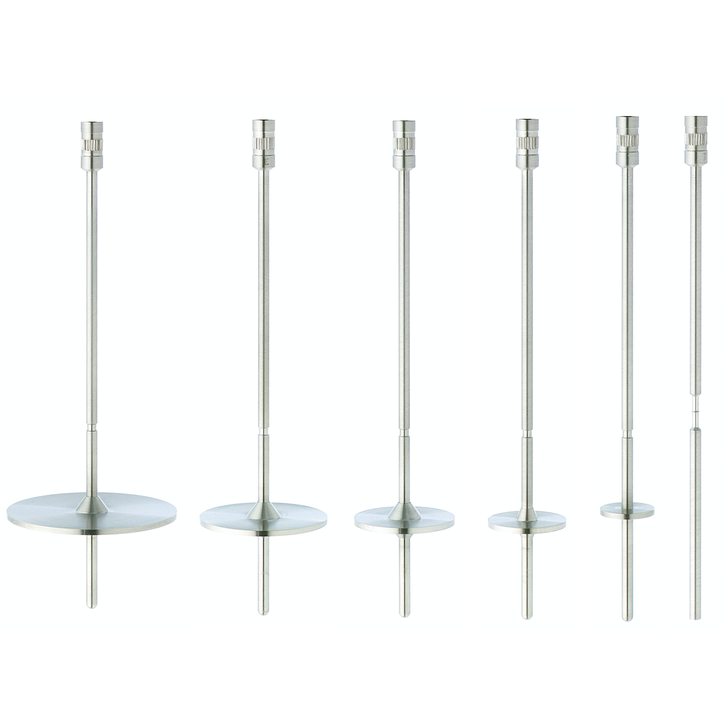 Standard RV spindles to be used with your Brookfield Viscometer or Rheometer with RV torque range.