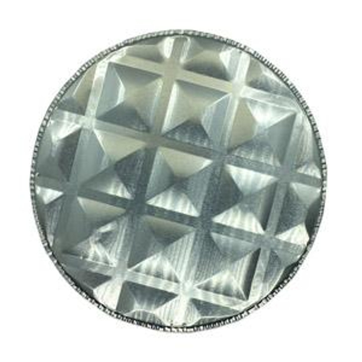 Waffle Pan - Aluminum Sample Pan for most solid applications.