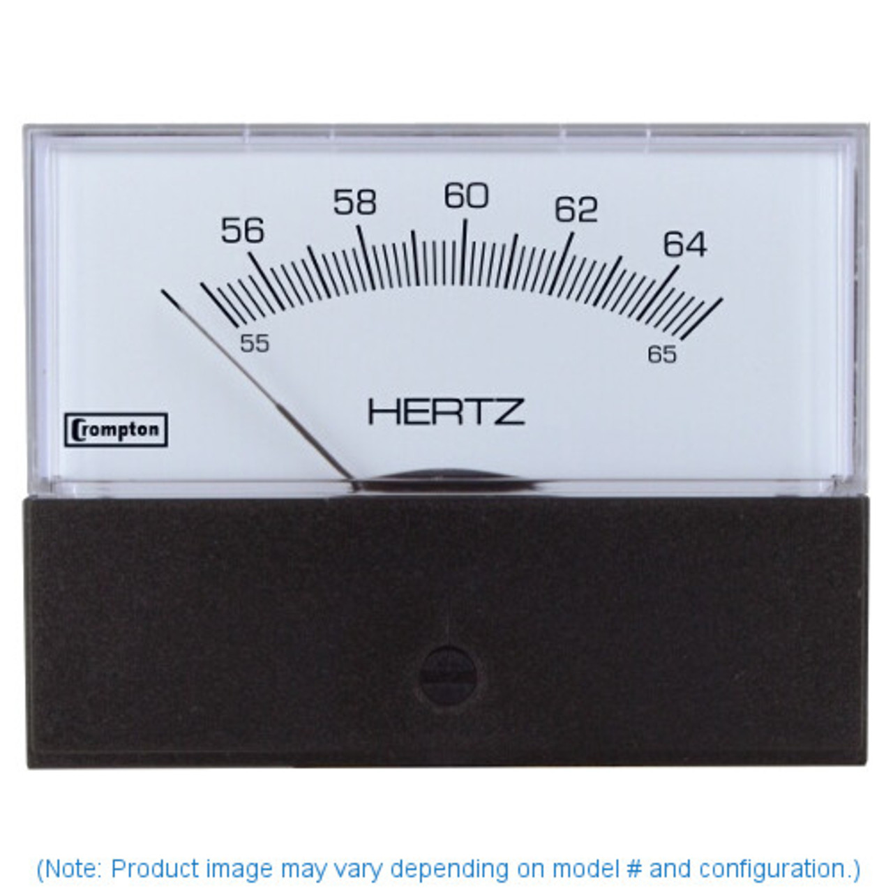"Crompton 363-41SA-RNAN-AN , Model 363-3 1/2"" Challenger Series Frequency meter"