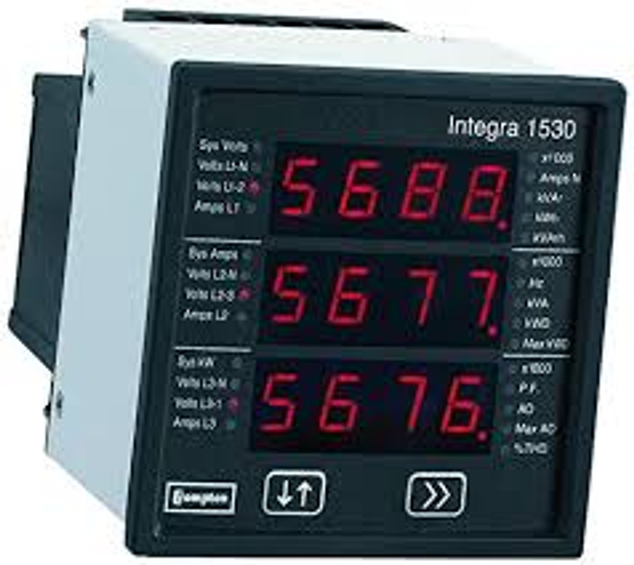1544 Inetgra Multi-Function Meters - ANSI 3-Phase 4 Wire