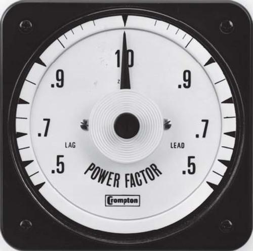 Crompton  078-425, 427 Sealed AC - Power Factor Meter