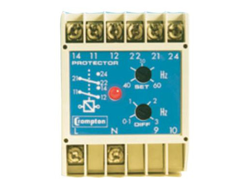 CROMPTON 256-PLDU-PQBX-C6 - TRANSDUCER SYNCHRO-CHECK RELAY WITH DEAD BUS FACILITY 120VAC INPUT RELAY OUTPUT