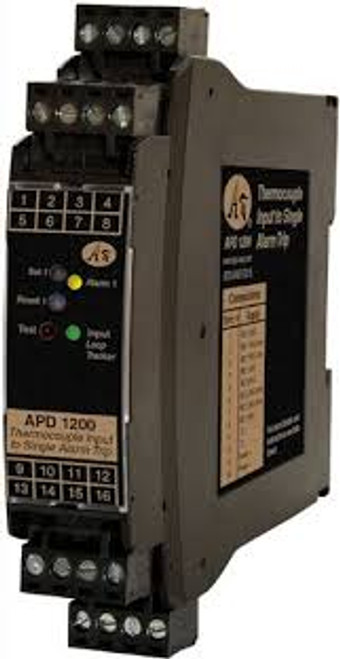 APD 1220 RTD Thermocouple Input Alarm Trips,