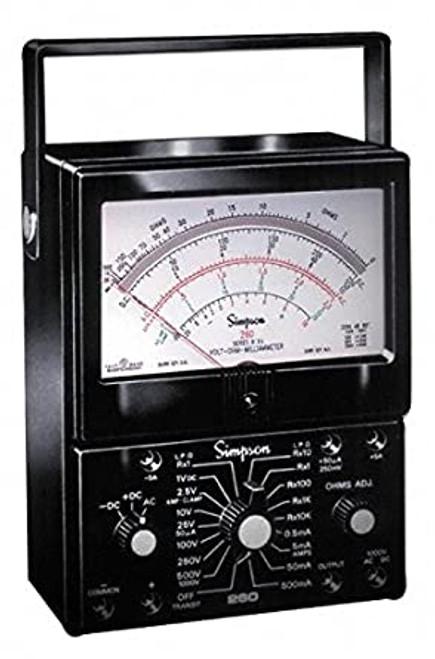 Simpson 12211 UL 260-6 Analog Multimeter