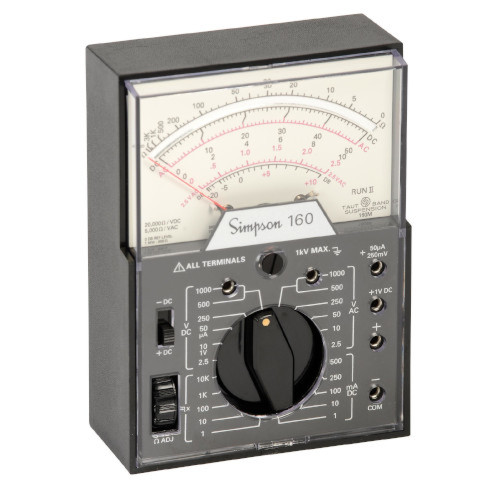 Simpson Electric Analog Multimeter Model 12271