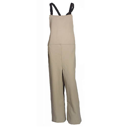 Cementex HRC4-OA-L Arc Flash Rated Task Wear FR Treated Cotton Overalls, Rating: 40 Calories, Color: Khaki, Size: Large