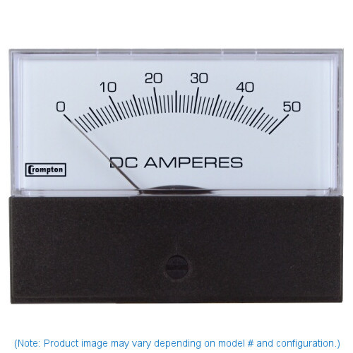 "Crompton 363-02VA-RSRS-C6 , Model 363-3 1/2"" Challenger Series Iron Vane Voltmeter"
