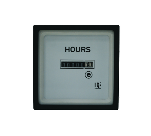 Crompton '016-156A-PNZH-C6-FS , MODEL 16 - 90MM (3.5 INCH), ELAPSED TIME METER, 60HZ