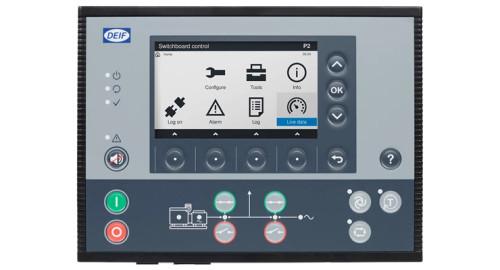 DEIF 2911500040 02 PPM 300 Variant 02 EMERGENCY genset controller