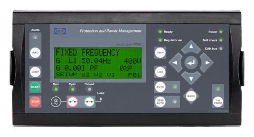 DEIF 2911500030 02 PPM-3 Marine Variant 02 PPM-3 DG Diesel Generator controller