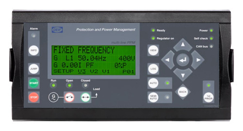 DEIF 2911500030 23 PPM-3 Marine Variant 23 PPM-3 Diesel Generator without display