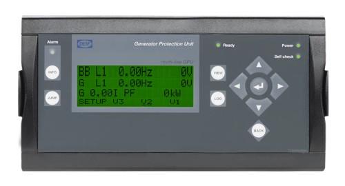 DEIF 2912120020 01 GPU-3 Hydro Variant 01 GPU-3 Hydro with display + A1 + J1