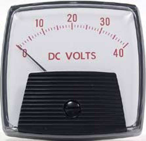 Crompton Saxon 012-01R DC - Voltmeter - Standard