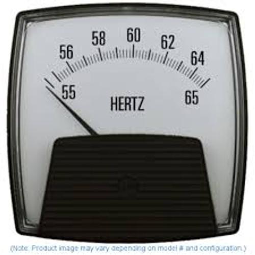 Saxon 012 (2.5) AC - Frequency Meter - Standard