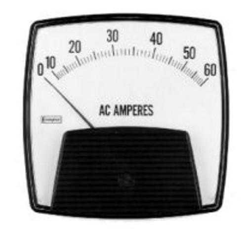 CROMPTON Saxon 013 (3.5) AC - Ammeter - Rectified SERIES AC AMMETERS